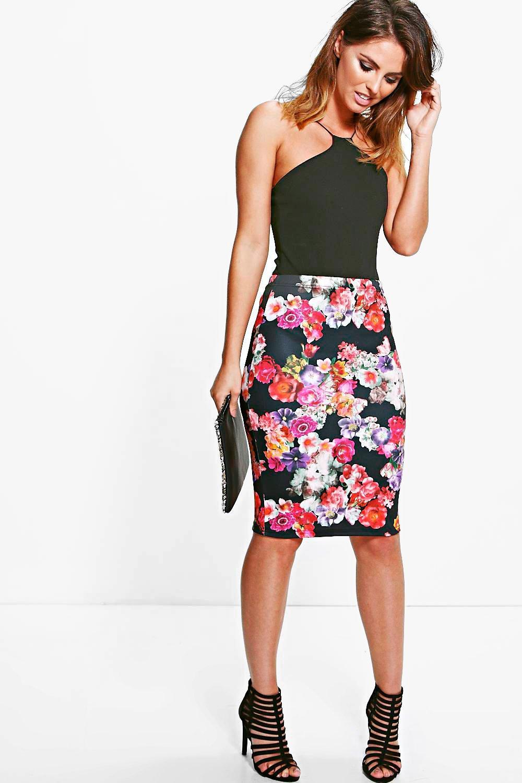 Midi Skirt multi