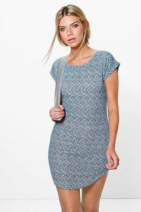 Joanna Curved Hem Dress