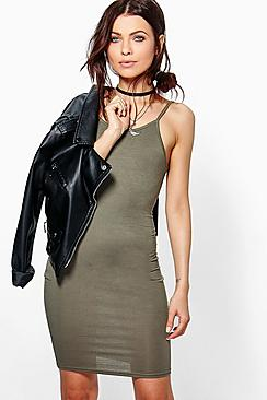 Ella Skinny Strap Mini Dress