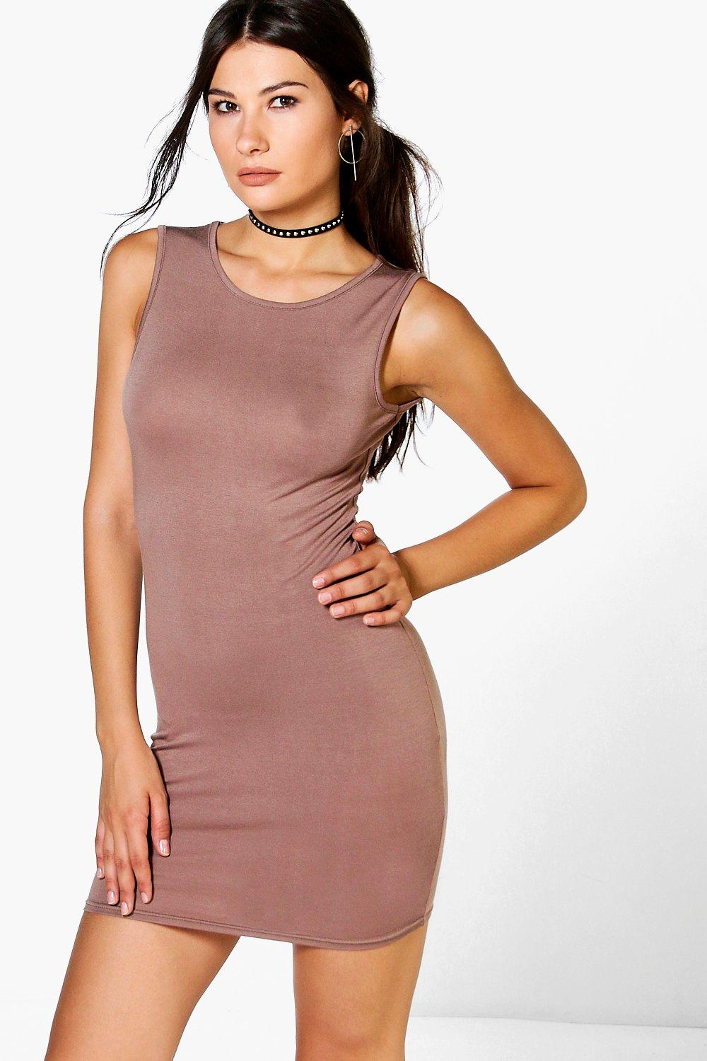 Florence High Neck Mini Dress