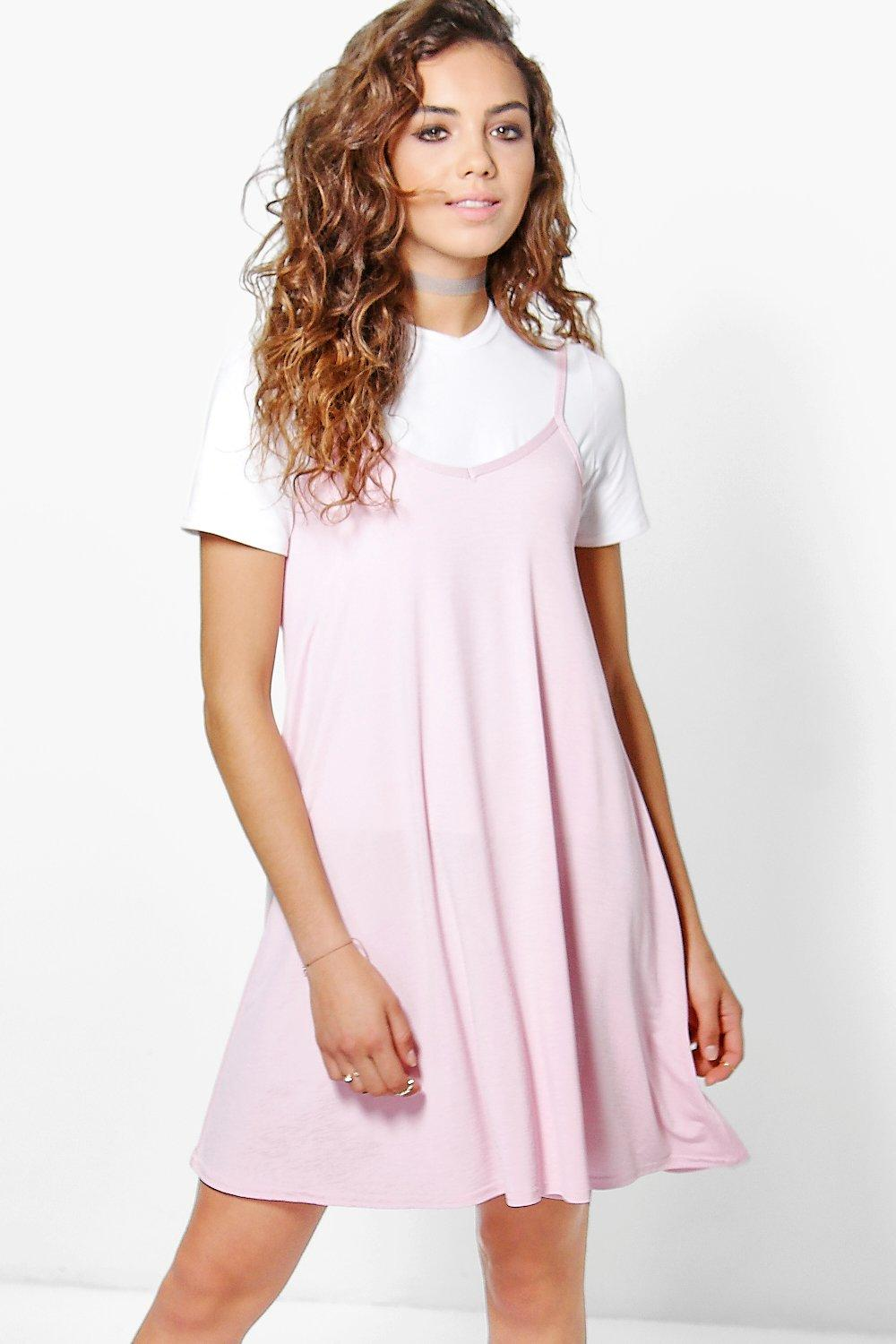 Holly Plain Swing Dress