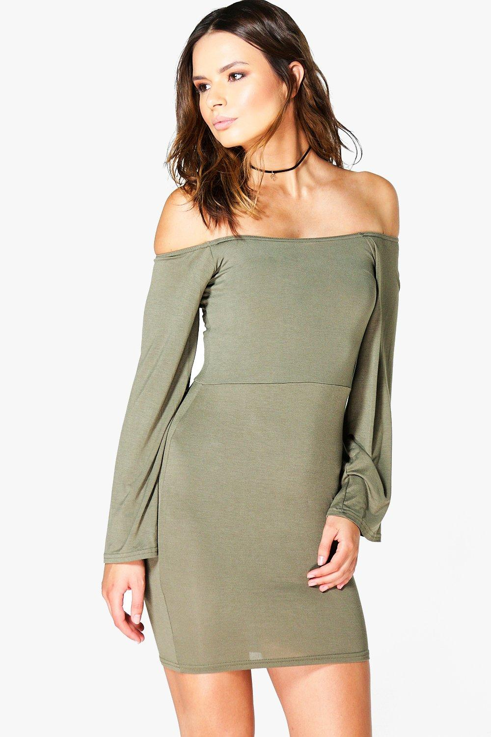 Daisy Off The Shoulder Mini Dress