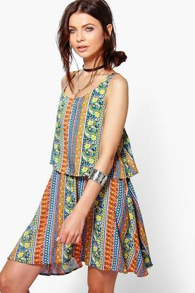 Phoebe Tassel Trim Beach Dress