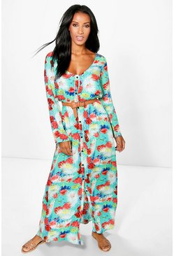 Isabelle Printed Maxi Dress