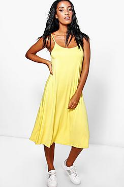 Amelia Strappy Swing Dress