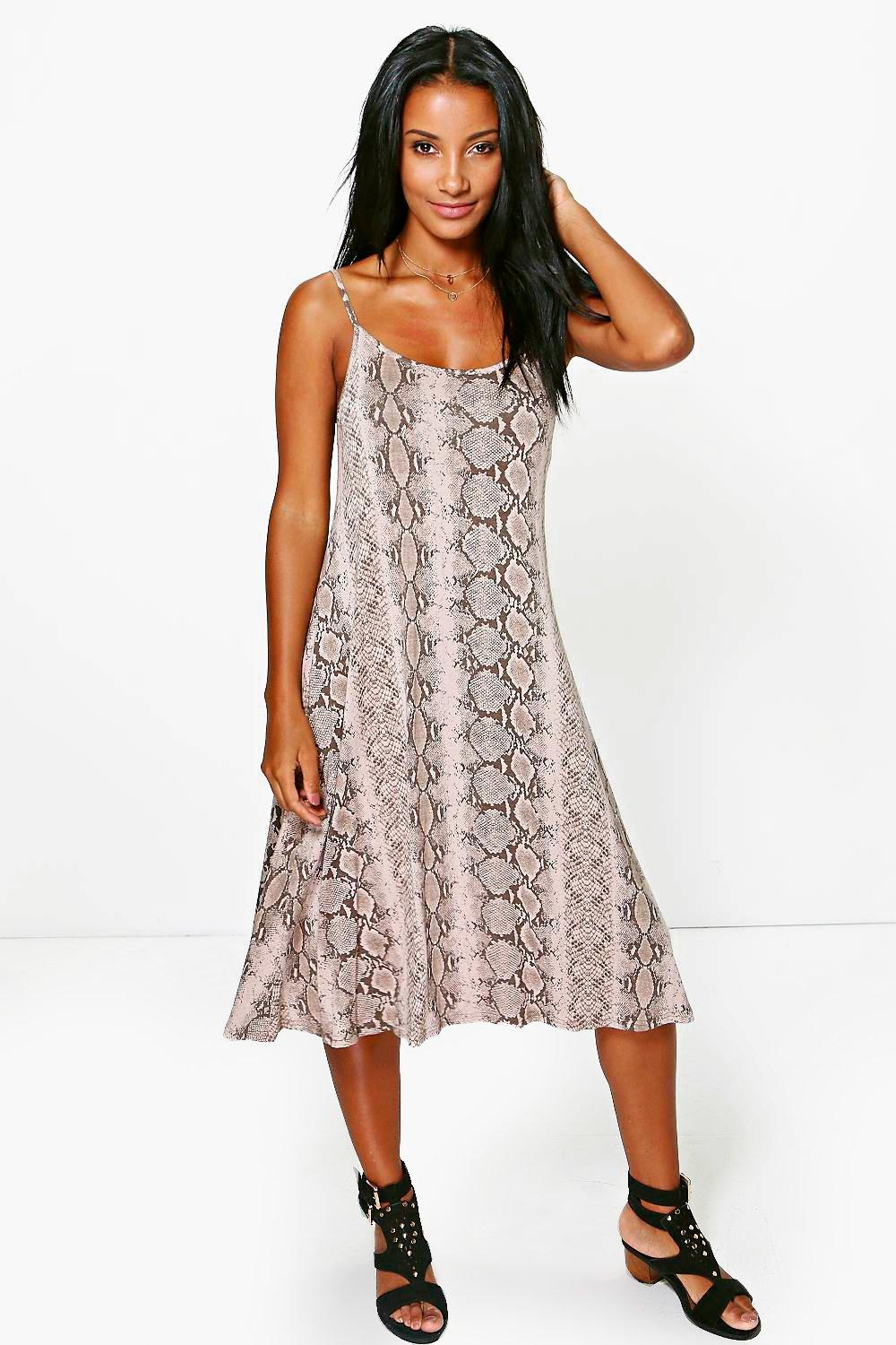Paige Strappy Swing Dress