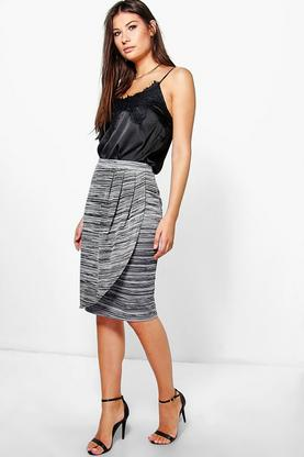 Erin Marl Knit Skirt
