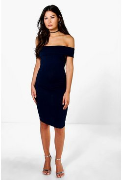Hannah Bardot Bodycon Dress