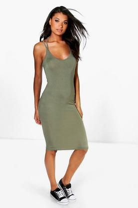 Erin Strappy Midi Dress