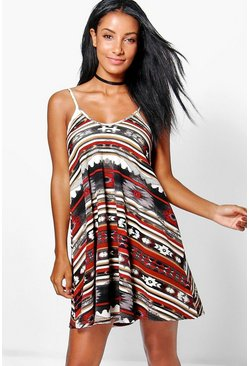 Aimee Strappy Swing Dress