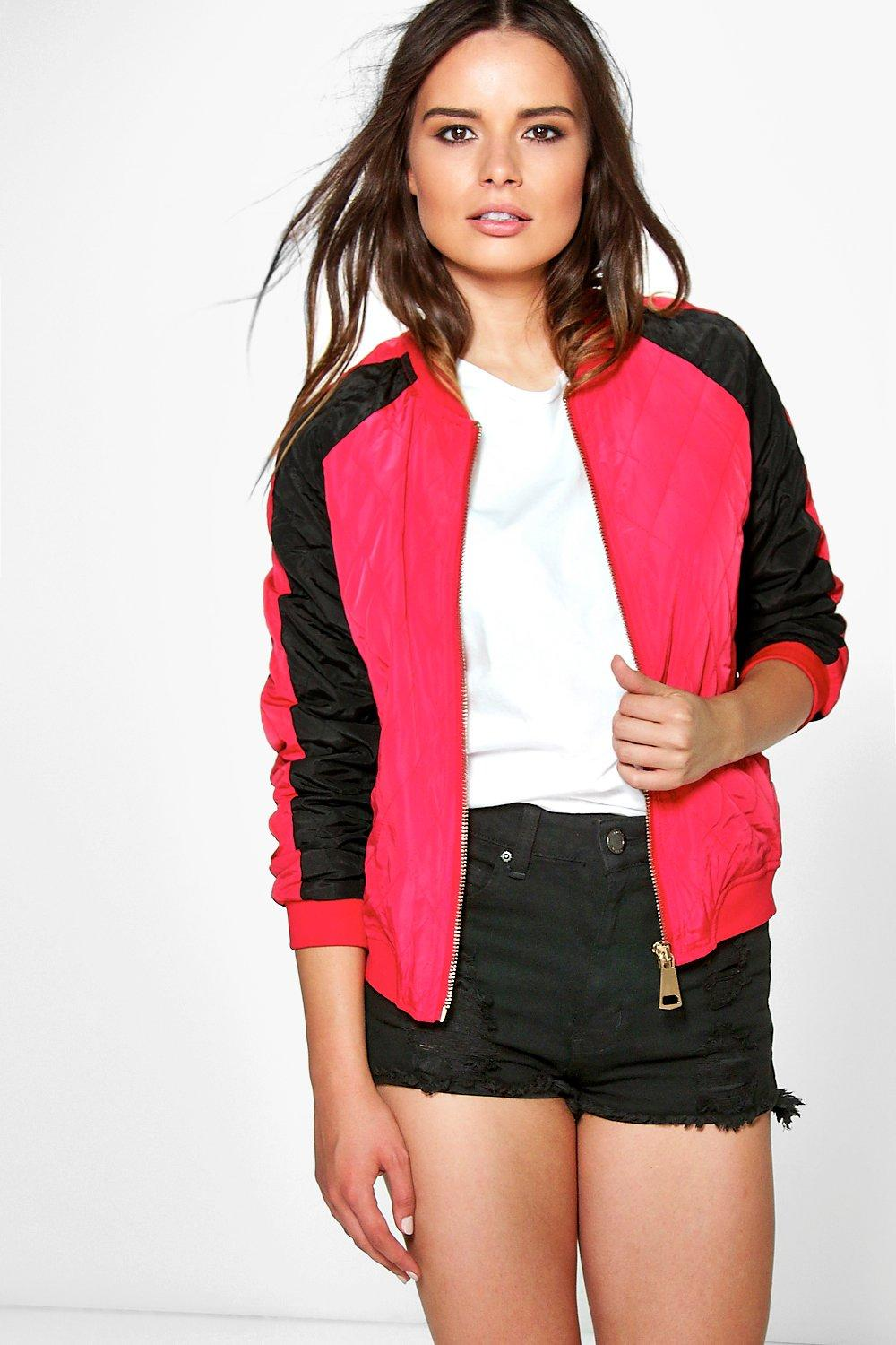 Emilia Contrast Quilted Jacket