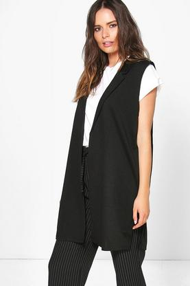 Alice Plus Size Sleeveless Blazer