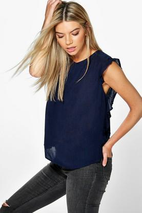 Maisie Frill Sleeve Top