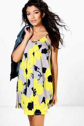 Mollie Printed Swing Dress
