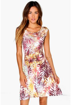 Saskia Tropical Swing Dress