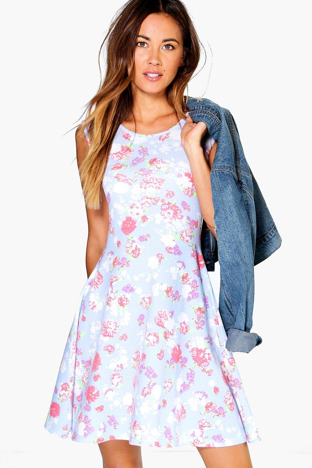 Faith Floral Swing Dress
