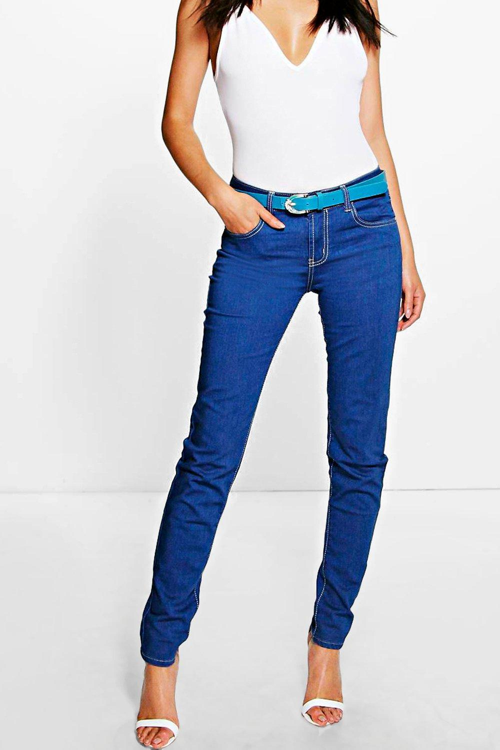 Niamh Skinny Belted Jean