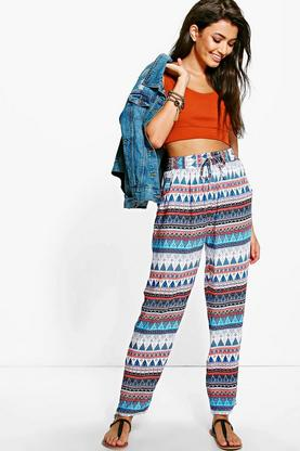 Sophie Aztec Patterned Trouser