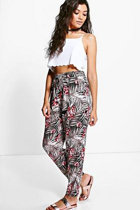 Olivia Floral Printed Trouser