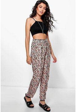 Nina Patterned Trousers