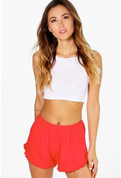 Molly Frill Hem Shorts
