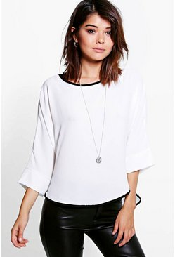 Darcey Batwing Oversized Top