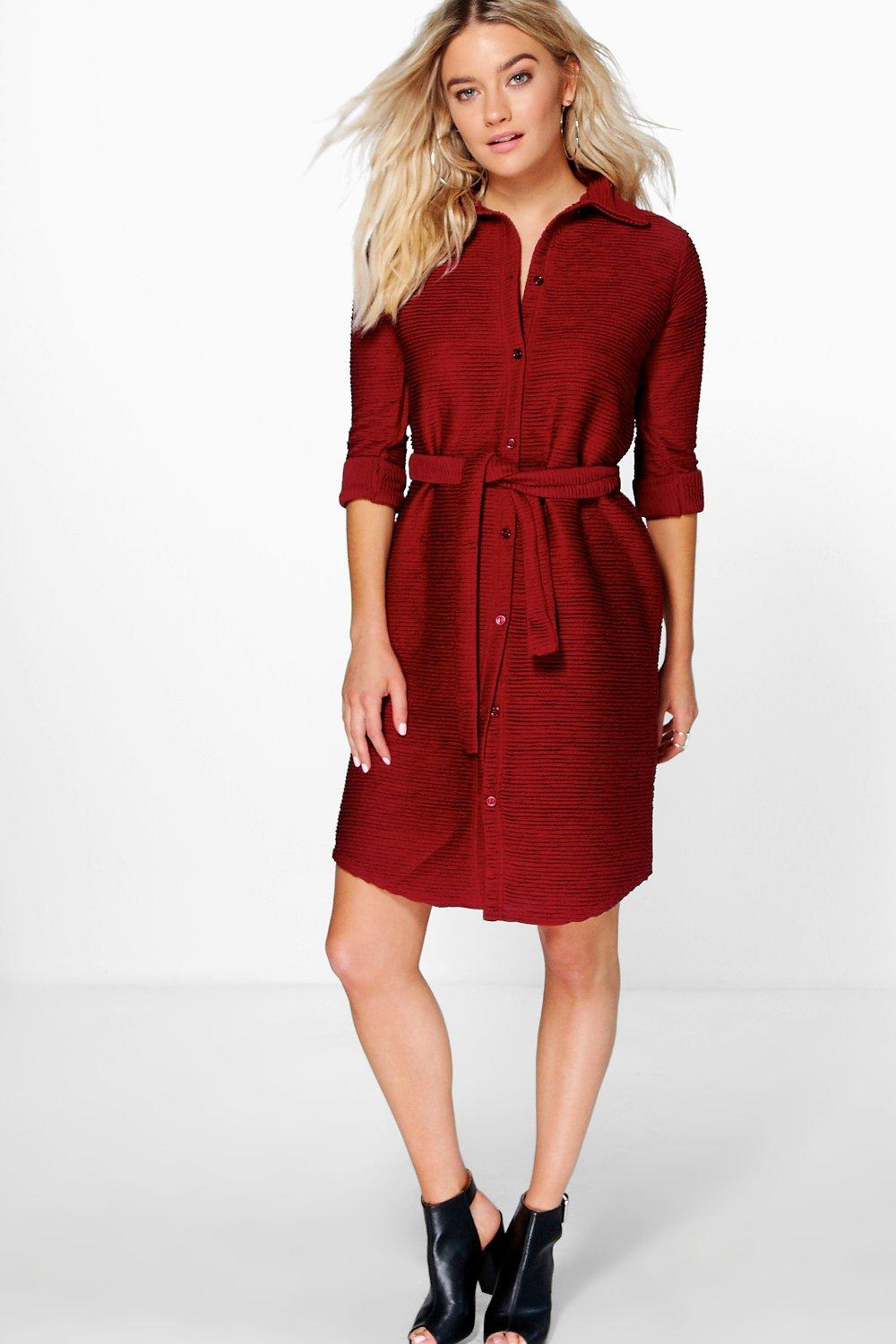 Emily Crinkle Shift Dress