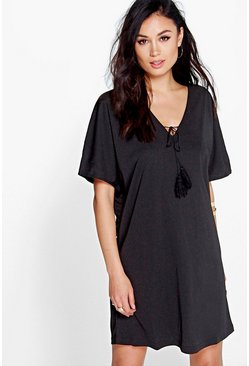 Meg Tie Front Dress