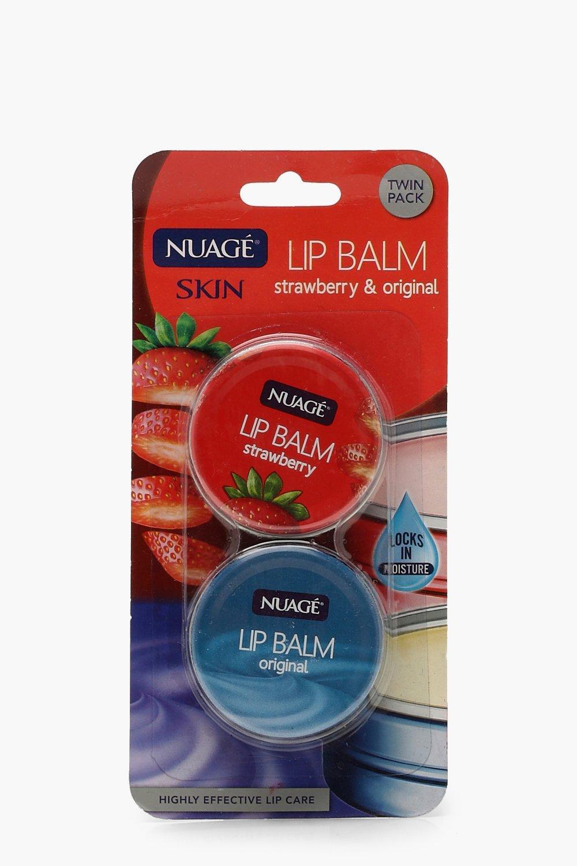 Купить Всё для красоты, Набор из двух бальзамов для губ - Оригинальный и клубничный, boohoo