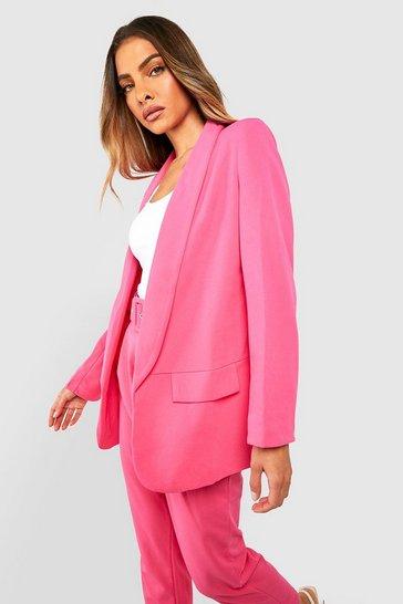 Hot pink Tailored Blazer