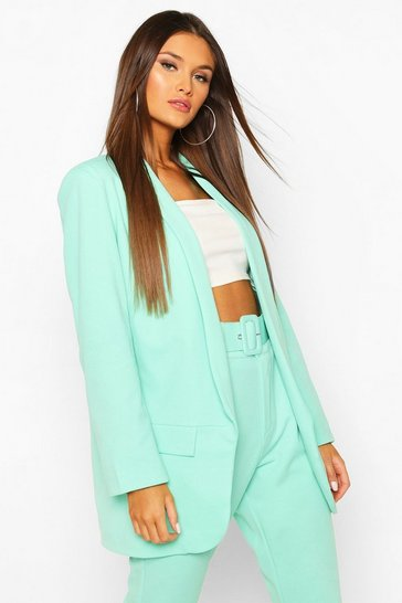 Mint Tailored Blazer
