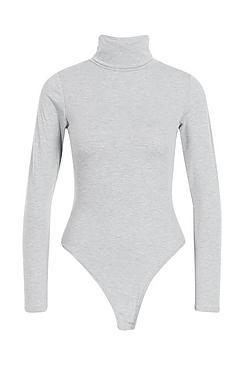 Roll Neck Jersey Bodysuit