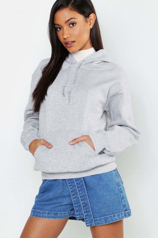 Womens Oversized Hoodie - grau - XL, Grau - Boohoo.com