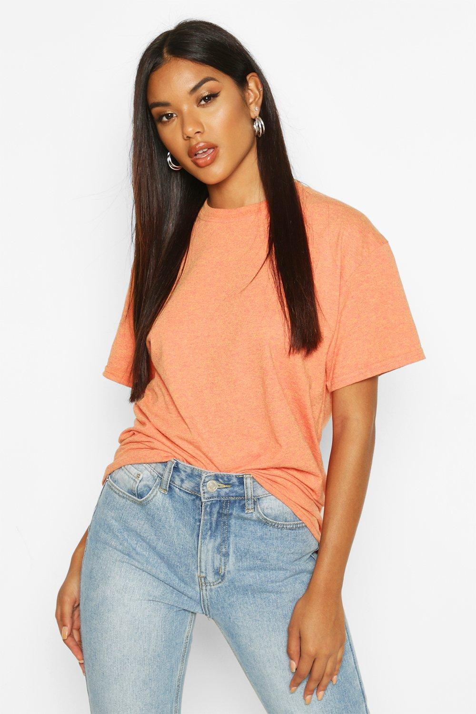 Womens Oversized T-Shirt - terracotta - XL, Terracotta - Boohoo.com