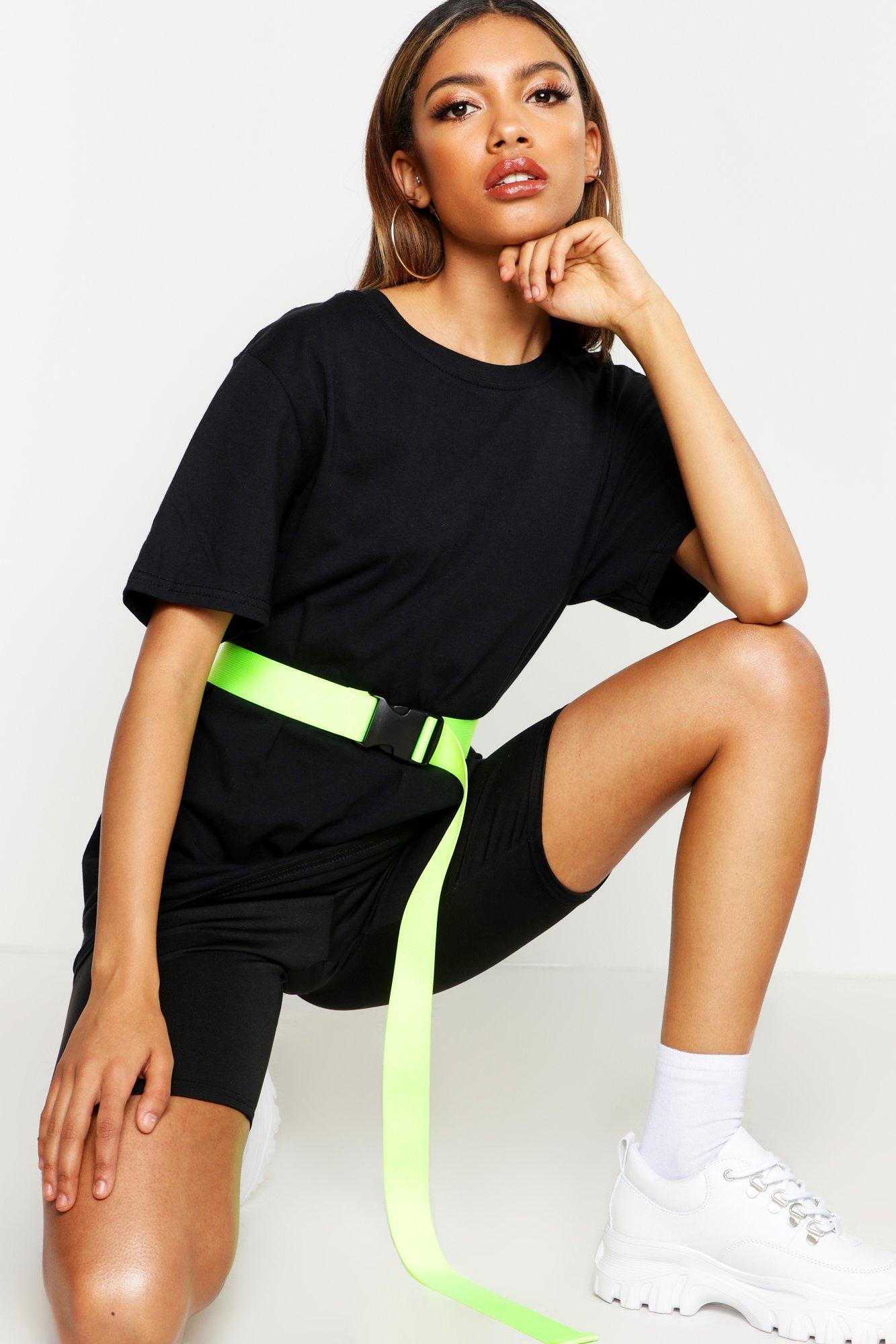 Womens Übergroßes T-Shirt - black - S, Black - Boohoo.com