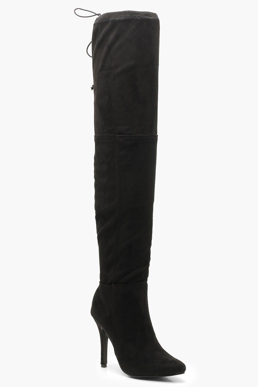 Stiletto Ботфорты на высоком каблуке