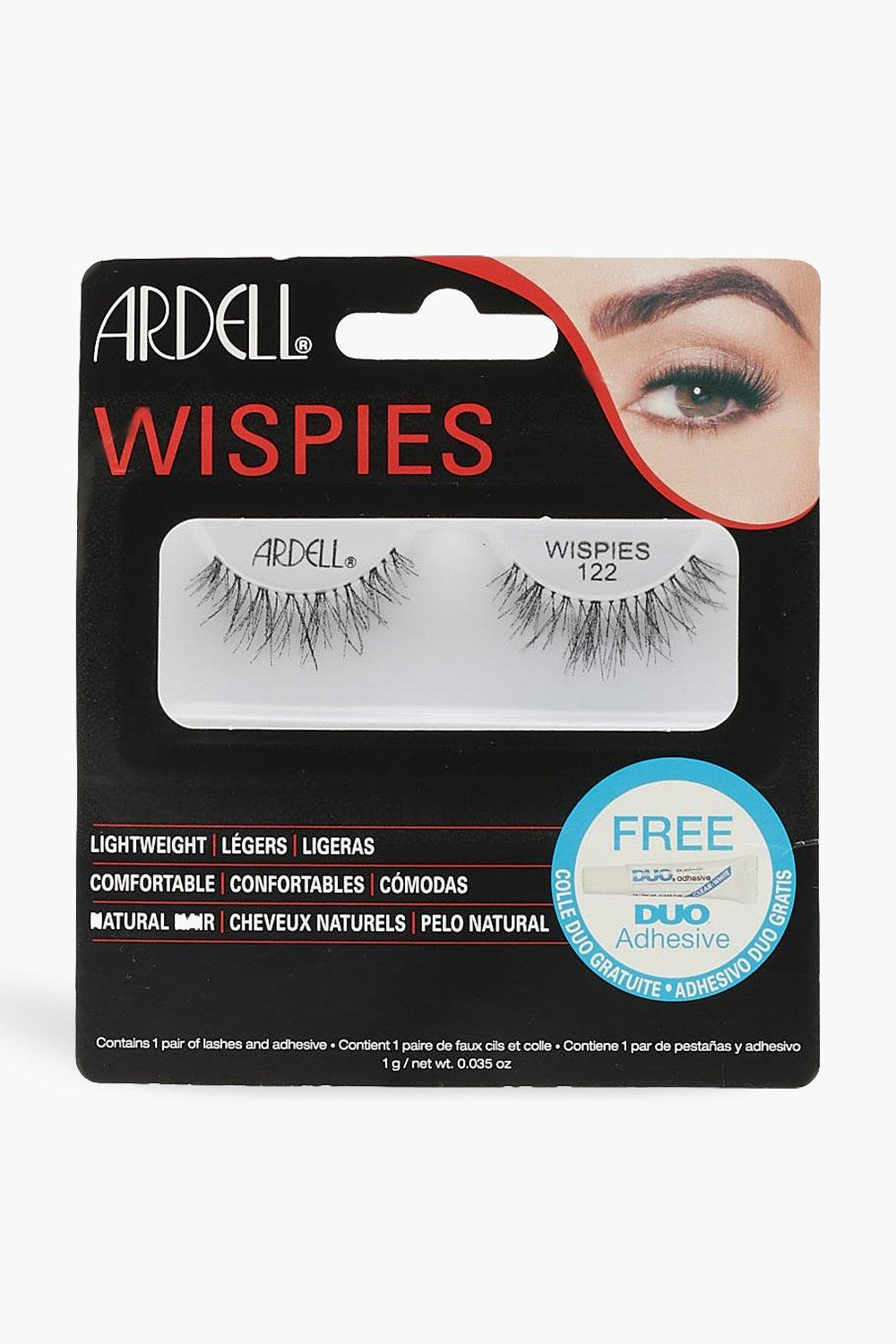 Ardell Womens Ardell Wispies 122 - Black - One Size, Black
