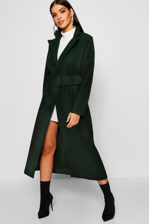 Купить Coats & Jackets, Потайная Ремень Look шерстяное пальто, boohoo