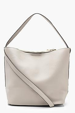 Bucket Daybag With Crossbody Strap