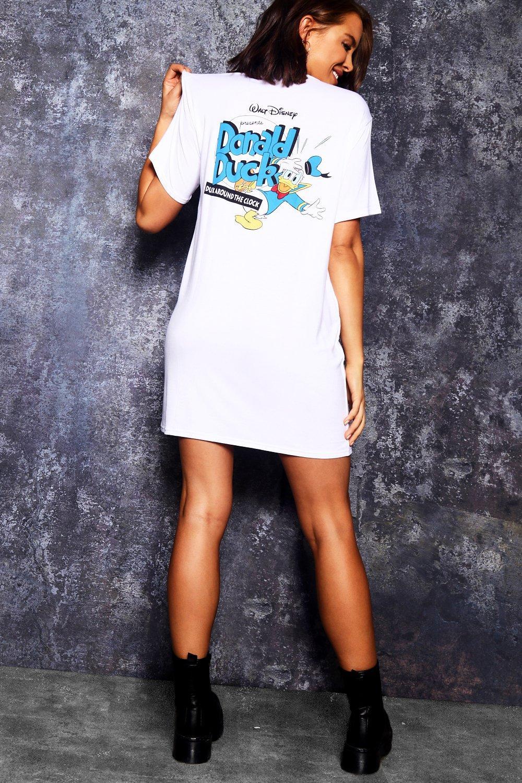 Купить К нам поступают платья, Платье-футболка Disney с принтом на спине <Donald>, boohoo