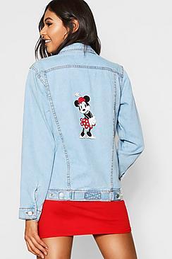Giacca di jeans con Topolino di Disney