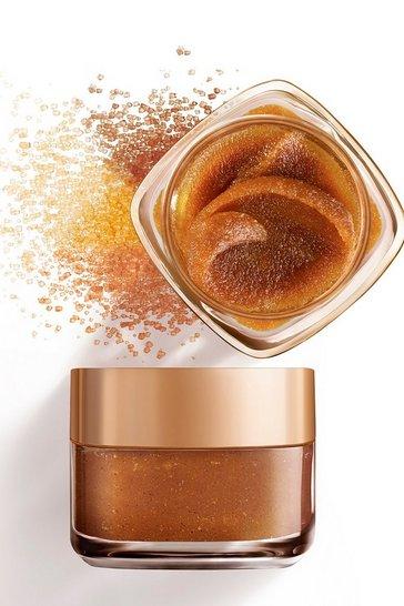 Bronze L'Oreal Paris Sugar Glow Grapeseed Face And Lip Scrub 50ml