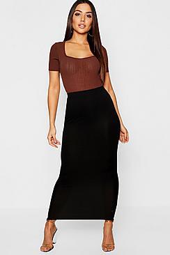2 Pack Basic Midaxi Skirt
