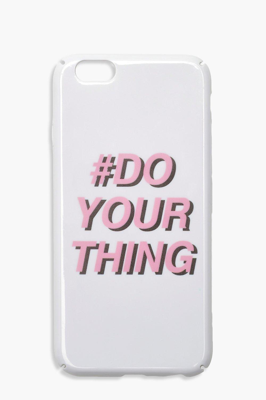 Купить со скидкой Чехол для iPhone 6s с надписью Do Your Thing
