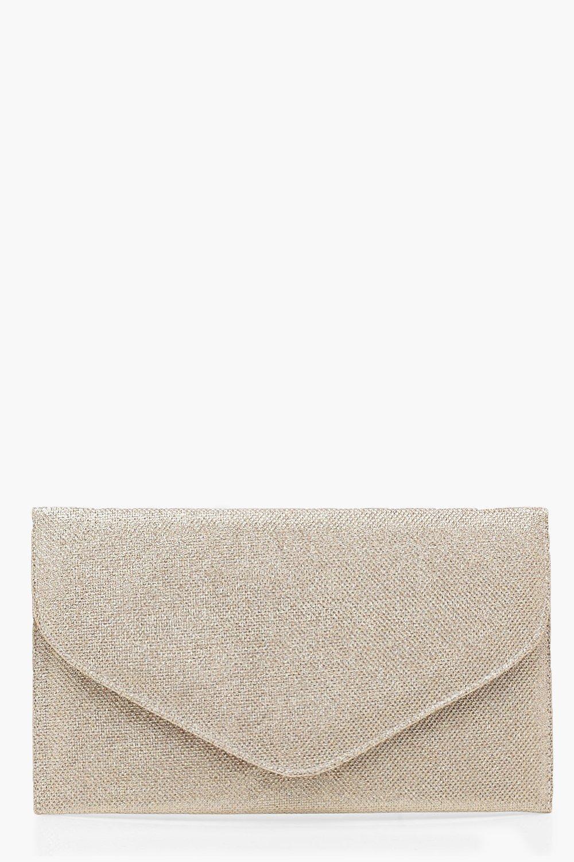 Купить Bags, Клатч-конверт с блестками по всей поверхности, boohoo