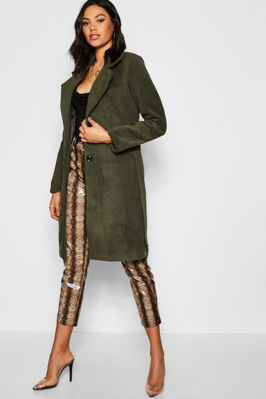 Купить Coats & Jackets, Belted Collared Coat, boohoo