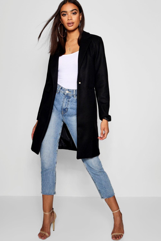 Купить Coats & Jackets, Идеально скроенное пальто из материала <под шерсть>, boohoo