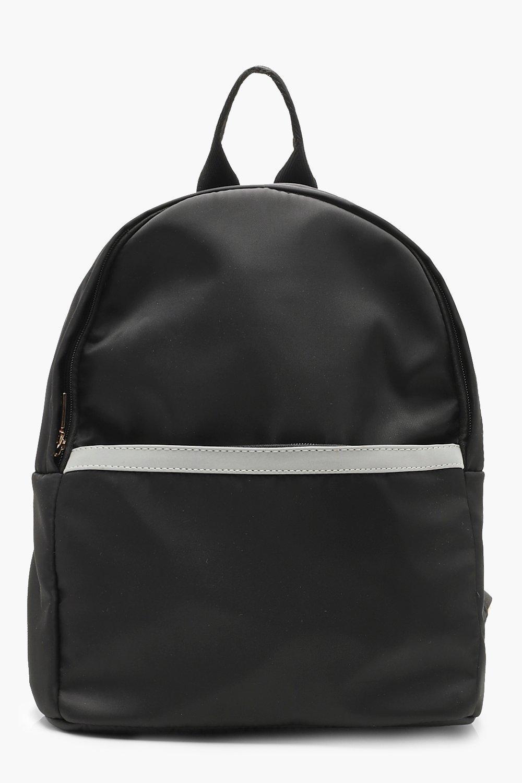 Купить Bags, Светоотражающий рюкзак с окантовкой на закрученной молнии, boohoo