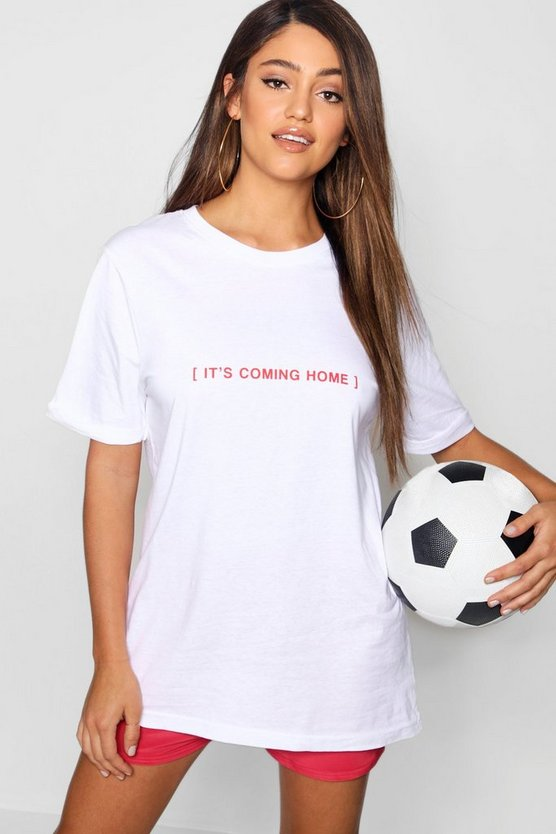 T-shirt It's coming home