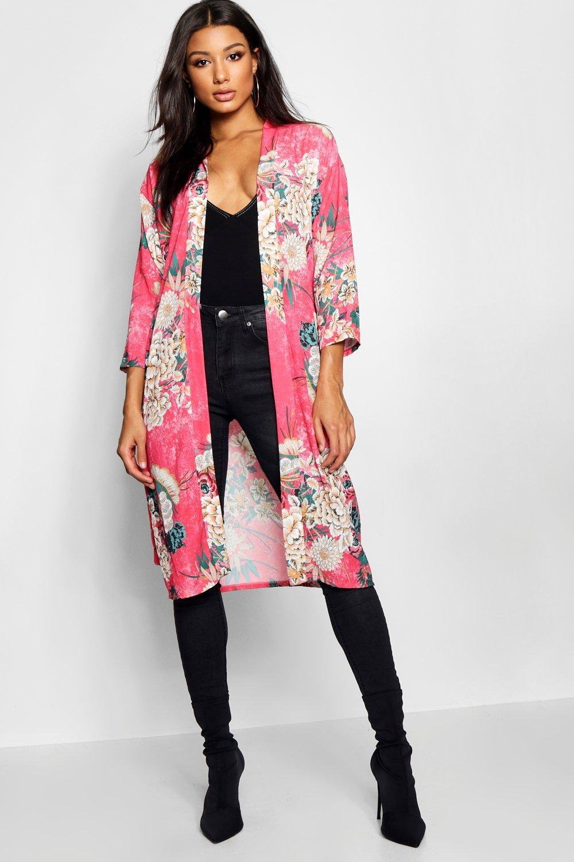 Купить Kimono, Oriental в стиле кимоно с поясом, boohoo